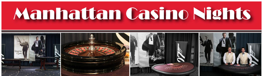 Manhattan Casino Nights, Mobile Casino Hire and Event Entertainment  North West